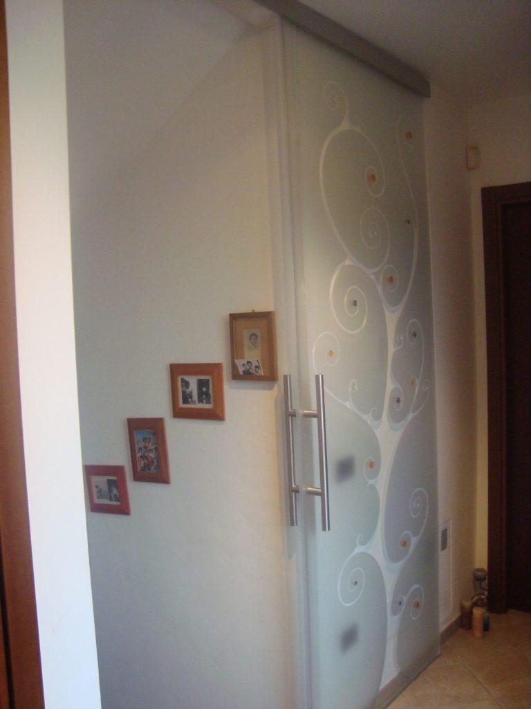 Porte in Vetro Scorrevoli - Sabella Vetri